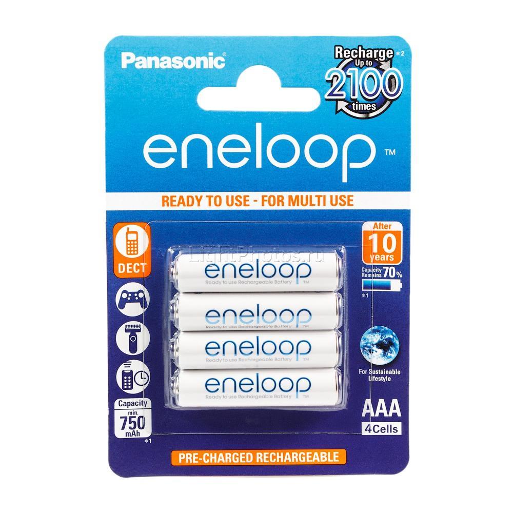 ������������ Eneloop AAA, 750 ��� - 4 ��. Eneloop