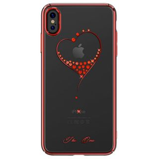 Чехол Kingxbar Wish для iPhone Xs Max Red Frame