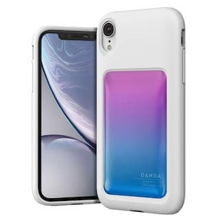 Чехол VRS Design Damda High Pro Shield для iPhone XR Pink Blue