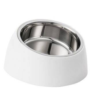Миска Xiaomi Jordan & Judy Pet Plastic Feeding Double Bowl Белая