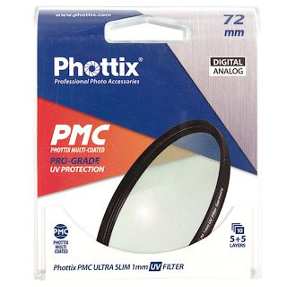 Светофильтр Phottix PMC Pro-Grade UV Filter 72 мм.