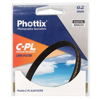 Фильтр Phottix PRO C-PL Digital Ultra Slim 62мм
