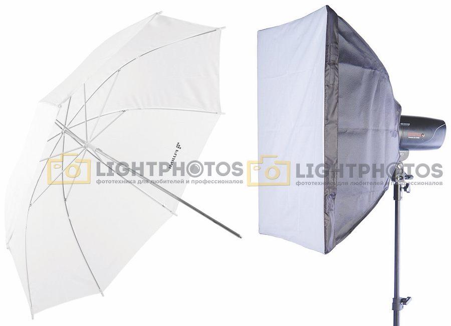 Что выбрать: софтбокс или зонтик?