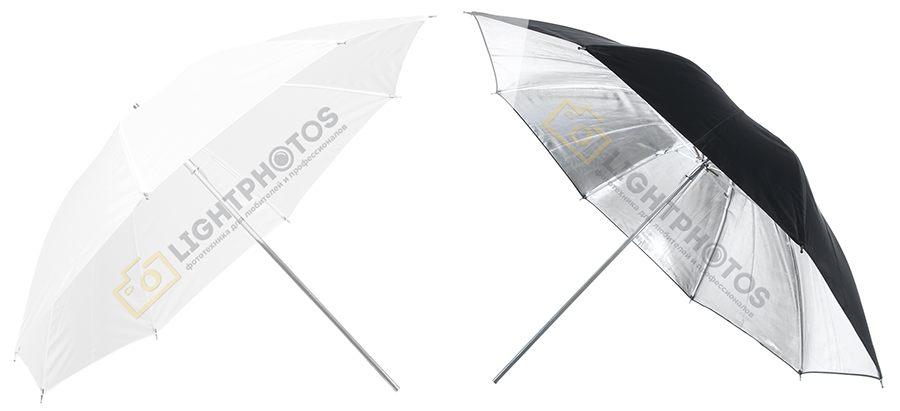 Зонт на просвет и зонт на отражение!?