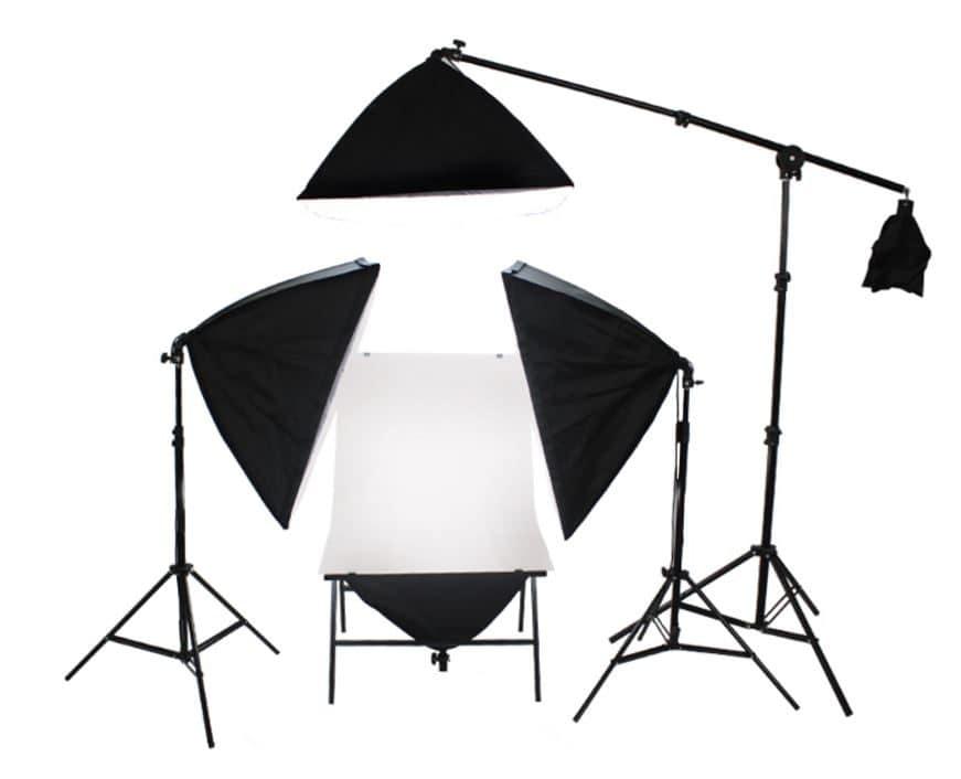 как самому сделать свет для фотостудии